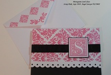♥ note pads, recipe cards, note card sets & holders / a lot of these ideas would make great make-n-takes / by Debbie Brown