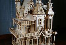 Maisons de poupées ... Doll's houses