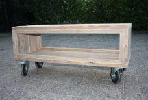 dreveny nábytok