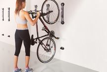 Personal Bike Storage - Steadyrack / Our vertical wall bike racks suit most bikes including road and mountain bikes! Wall bike storage that requires no lifting and enables you to pivot bikes for easy access, plus no damage to your bike!