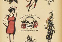 Tattos for Darrell