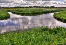 Skrzyżowanie rzek Wełny i Nielby