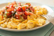 Rührei / Tomaten