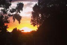 Nature / Random pics taken about weather; sunrise, sunset, rain, storms!