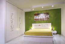 Camere da letto su misura / foto gallery delle camere da letto su misura realizzate da Falegnamerie Design