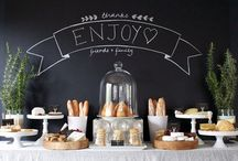 Wine and Cheese Party Ideas / Table and Decor Ideas for a Wine and Cheese Party