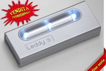 LEDDY3 PROMOTION / Go to www.giesse-shop.it and take advantage of our latest promotion .... very competitive prices!!! 3 led system with structure in thermoplastic material.  Lighting through a motion sensor. Leds guarantee a duration of more than 50.000 hours. Battery-powered: 3 alkaline (provided).