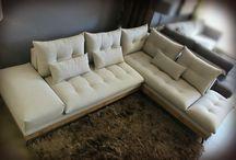 Καναπές Urban / Εντυπωσιακός γωνιακός καναπές Urban σε industrial design.