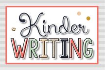 Kindergarten Writing {Kinder Tribe}