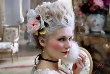 Marie Antoinette make up