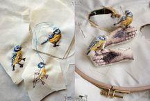 oiseaux et plumages