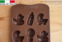 Stampi in silicone per gesso | Idee Creative in Bottega / Stampi in silicone per realizzare gessetti profumati e cioccolatini.