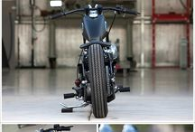 Jons bobber / For when lollie sells everything she owns and buys him a 1950's Harley or similar