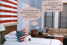 Kids bedroom  / by Elisa Hicks-Young
