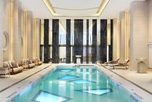 Indoor pools / Experience the diverse world of indoor swimming pools or lap pools whether in generous or small spaces.