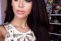 Carli bybel hair and make up