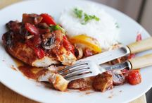 Chicken & Peppers Recipe