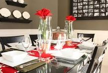Christmas Table Decorations Ideas / How to set a holiday dinner table,extending dining table sets,christmas dining room table centerpieces.christmas dinner table decoration ideas,christmas dining room table decorations,christmas dinner table UK decoration ideas,christmas buffet table decoration ideas.#diningtabledecorationideas