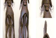 LA MIA AFRICA / Foto sculture africane. African sculpture photos.
