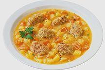 Rezepte Eintöpfe und Suppen
