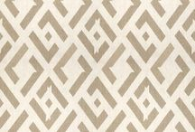 Geometric patters in fabric and design