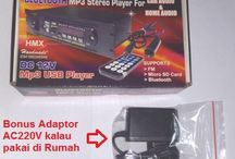 Rakitan Player  MP3 USB FM untuk  audio mobil DC12V