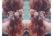 ③カラードレスヘア