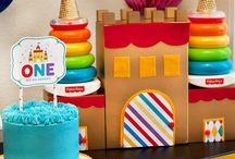 Royal First Birthday Party / Celebrate your baby's first birthday in royal style! Be inspired with fun, colorful first birthday tips and party decor inspiration from renowned designer and party stylist, Jennifer Sbranti, owner of Hostess with the Mostess®!  / by Fisher-Price