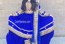 afghanischen Kleid