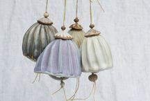 Ceramic bells, chimes & mobiles