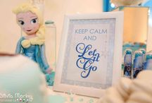 Frozen - The Details / Conjure up the magical kingdom of Arendelle at your next party celebration with these special details!