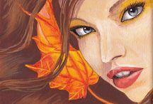 Acrylic paintings - Fantasy ART / I love fantasy,and I love painting in these theme. My acrylic paintings on streched canvas.