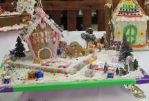 Gingerbread Houses / Some of the creative Houses in our Gingerbread House Contest each year at The Southgate Mal