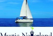 Sailing Retreat Boat by Mystic Neverland