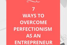 Perfectionist- Tips and How to Overcome / How to know when you are a perfectionist, how to overcome perfection tendencys.