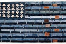 Fabric crafts / by Kim Aman