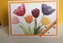 Mijn Stampin'Up creaties / wat je mooi kunt maken met mooi papier