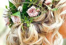 Blomsterpige hår