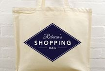 Personalised Tote Bags / For out and about