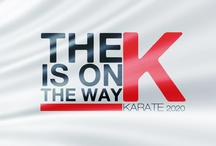"The K is on The Way ""Cover"" / by Karate WKF"