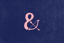 Ands + Ampersands / I love ampersands.