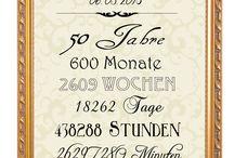 Geschenk Ingrid und Wolfgang 50jhr