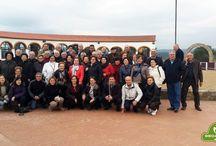 Visita a la ganadería de Hros. de Luis Terrón Díaz / Un grupo de 43 murcianos pudieron disfrutan un día de la Dehesa y el Toro visitando la ganadería de los Hros. De Luis Terrón Días en la espectacular finca Los Frenos