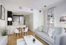 Open plan living designs
