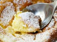 Ricotta/curd pudding