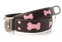 Beautiful Leather Dog Collars