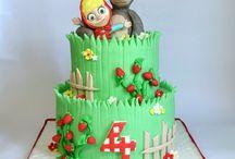 Masha e Orso Cake Design