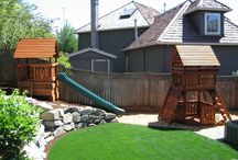 Wooden Swing Sets / Fun times outdoors ... for the whole family!