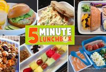 5-Minute Lunchbox / 5-Minute Lunchbox changes the lunch packing experience by equipping parents with the tools they need to pack healthy lunches in 5 minutes or less.  Readers will learn how to overcome the 8 common pitfalls of lunch-packing that lead to a chronically unhealthy lunch.