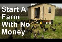 start a small farm with no money